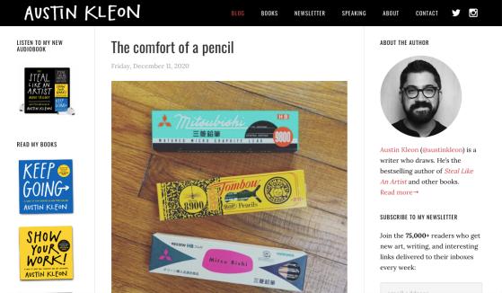 Austin Kleon Blog